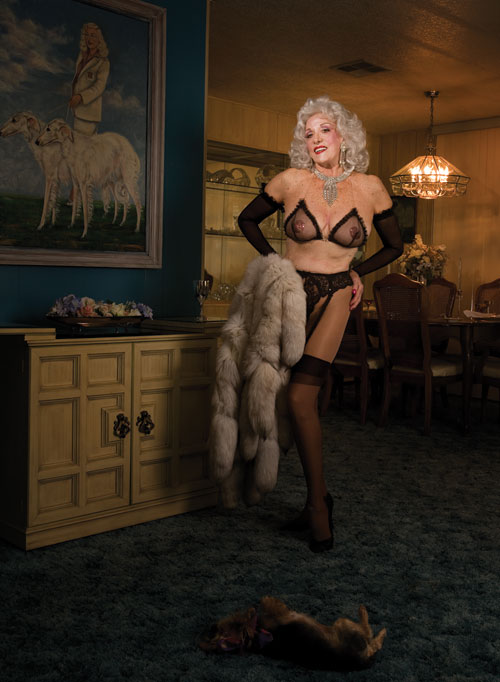 Bodies, beauty, and burlesque: Artist celebrates ageing femininity