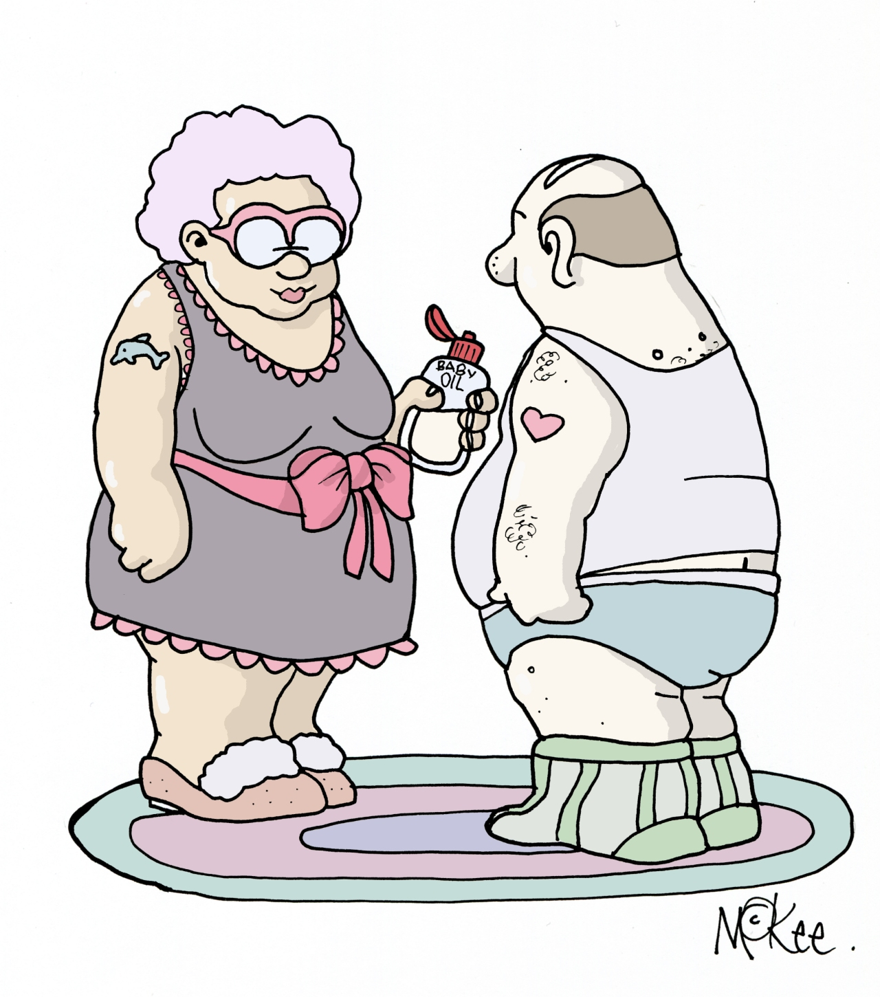 Age of Love: a risqué exhibition with Pete McKee